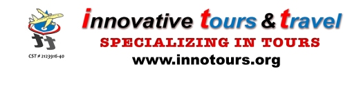 Innovative Tours & Travel BANNER