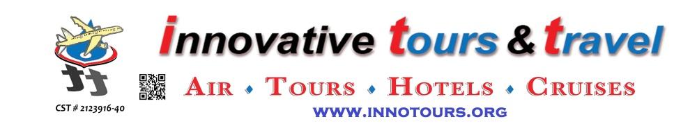 Innovative Tours & Travel QR code BANNER