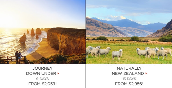 Independent Vacation Packages_Aust & NZ