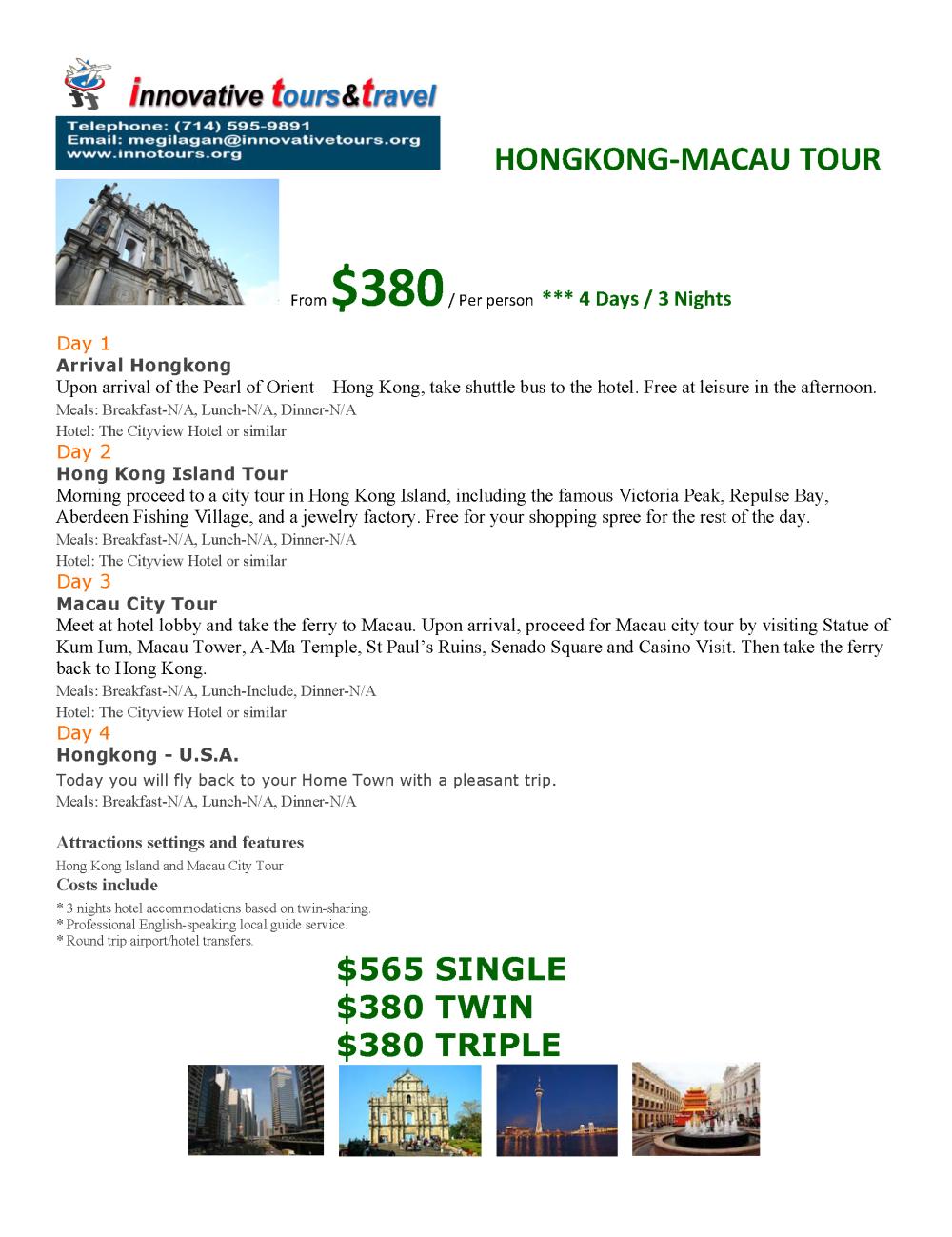 HongKong-Macau_4D3N
